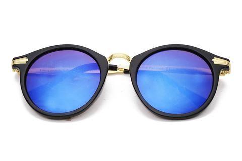 THE BIG SLICK REVO | Óculos de Sol Vintage com Design Horn Rimmed Sofisticado