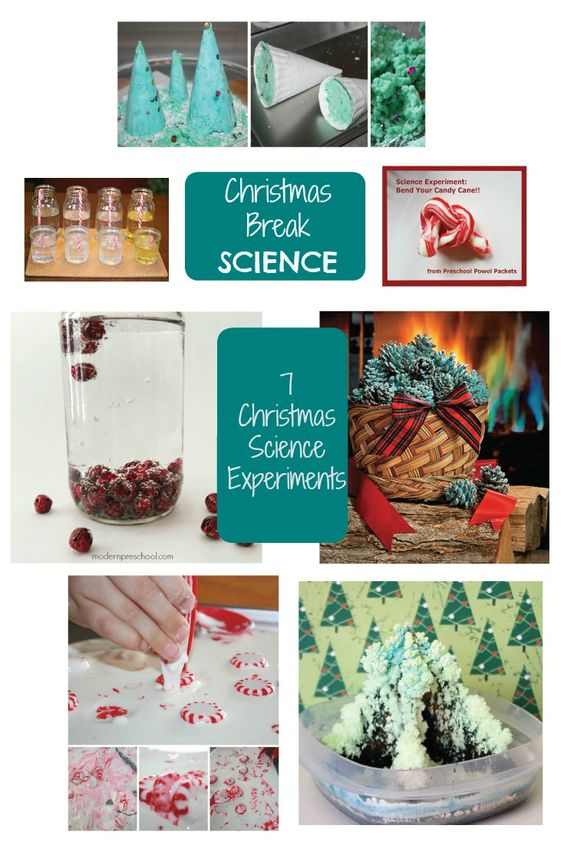 Christmas Science - 7 Science Experiments to Try Over Christmas Break