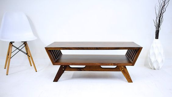 The April V2: Midcentury Modern Walnut Coffee T... —