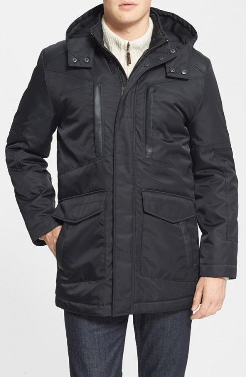 Andrew Marc Oscar Water Resistant Field Coat | Clothing