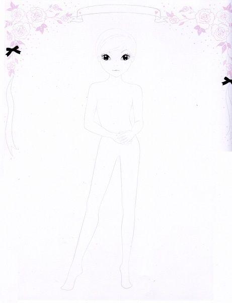 topmodel8 461×600  fashion coloring  pinterest