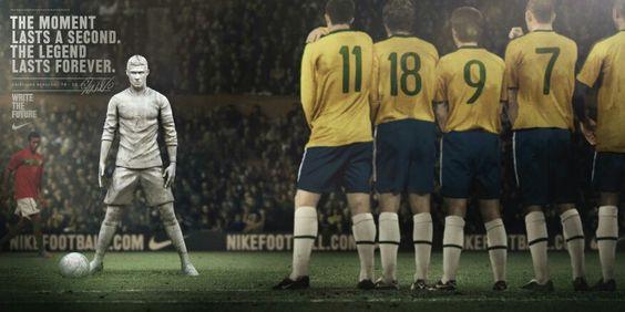 Nike: write the future. #ad #campaign