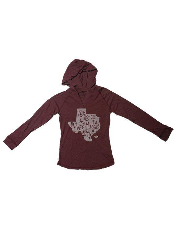 Texas A&M Aggies Adidas T-Shirt - Aggies Maroon Aggies Lettering Too Long Sleeve http://www.rallyhouse.com/shop/texas-am-aggies-adidas-14850904?utm_source=pinterest&utm_medium=social&utm_campaign=Pinterest-TexasAMAggies $36.00