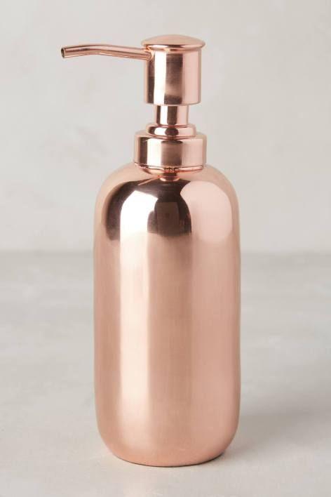 Copper Gleam Bath Collection: