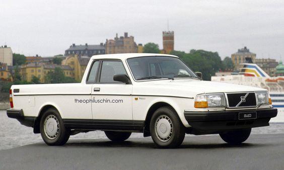 » Volvo 240 Pickup Theophilus Chin