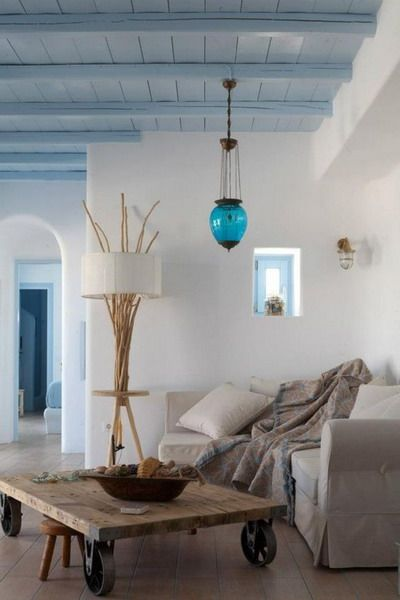 Modern Mediterranean Interior Decoration Design Trends 2019