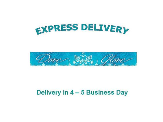 Express Delivery International Rush Order Fast by DoveGlove