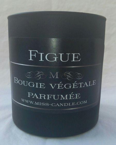 Bougie parfumée Figue : Luminaires par miss-candle