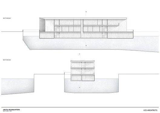 Arctia Headquarters,Section