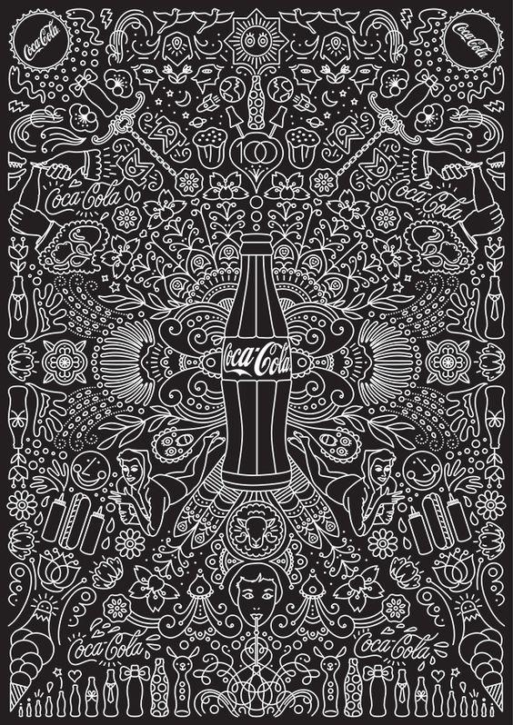 La la la Coca-Cola by HI(NY) Design