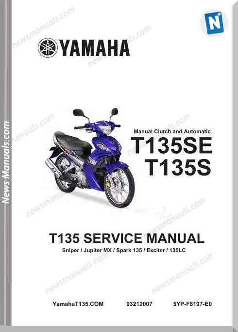 yamaha t135 service manual complete   yamaha, manual, sniper  pinterest