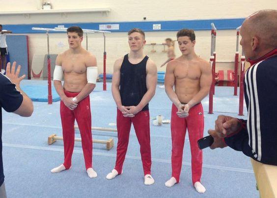 Nile Wilson and Brinn Bevan, British Gymnasts