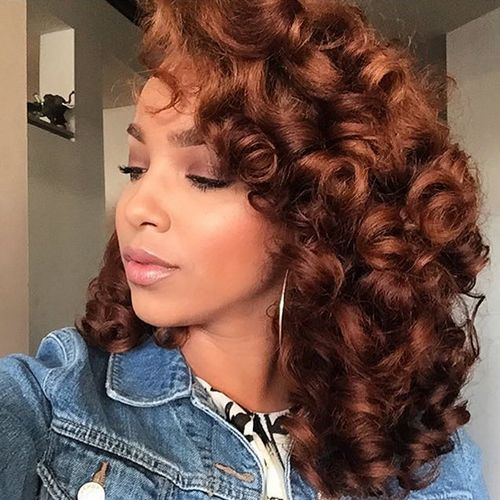 african american hairstyles men : ... hair lace wigs wig hair curly hair curly bob dyed hair remy hair