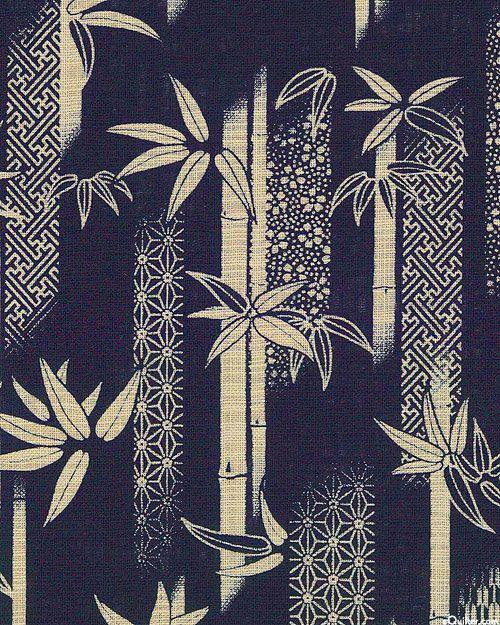 Japanese Import Sevenberry Nara Homespun Bamboo Quilt