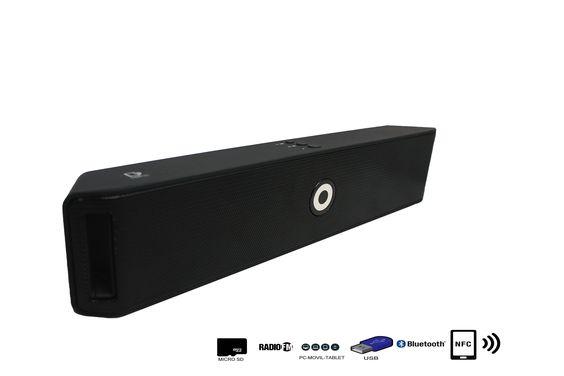 Altavoz  Con Bluetooth, Radio, MicroSD, USB y NFC 9766 - Altavoz Con Bluetoothcon Radio, MicroSD, USB y NFC   Con el Altavoz Con Bluetoothpodrás disfrutar de todas las emisoras de la Radio FM para que no te pierdas tus programas favoritos. El Altavoz Con Bluetoothes compatible con tarjetas SD, MicroSD, reproduce tu música o la de tus am... - http://www.vamav.es/producto/altavoz-con-bluetooth-radio-microsd-usb-y-nfc-9766/