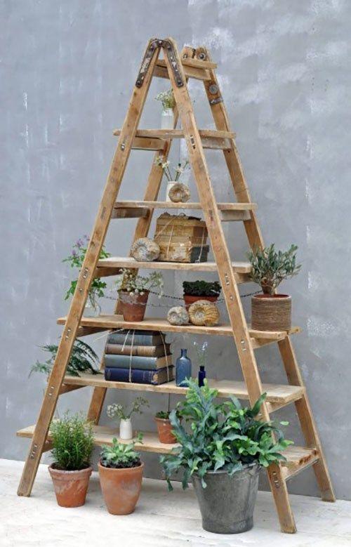 50 Ladder Shelf Image Ideas White Leaning Ladder Bookshelf Vintage Ladder Ladder Decor Ladder Shelf