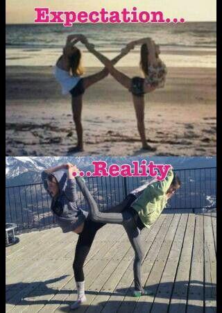 Expectation......Reality: