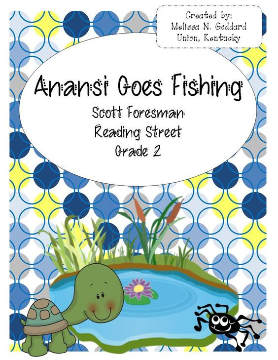 Reading street grade 2 and fishing on pinterest for Anansi goes fishing