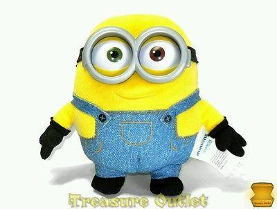 Thinkway Toys Universal Studios Stuffed Plush Minion 5.5in