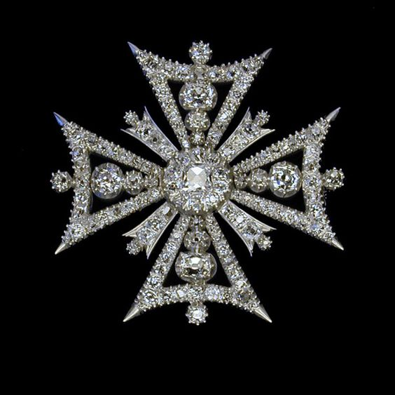 maltese cross brooch - Google Search