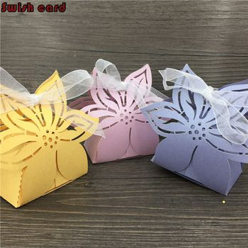 265 best gift bags amp boxes images on pinterest wedding 50pcs personalized wedding decoration laser cutting flower paper gift box candy box for wedding baby shower decoration price 2297 free shipping negle Image collections