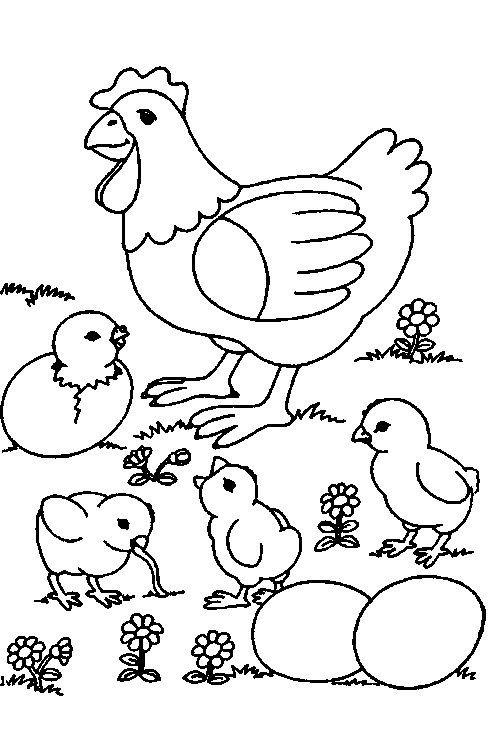 Kleurplaten Dieren Lente.Lente Knutsels Deel 3 Kleurplaten Lente Knutsels Thema 3