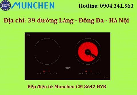 Giá bán của bếp điện từ Munchen GM 8642 HYB tháng 4/2018