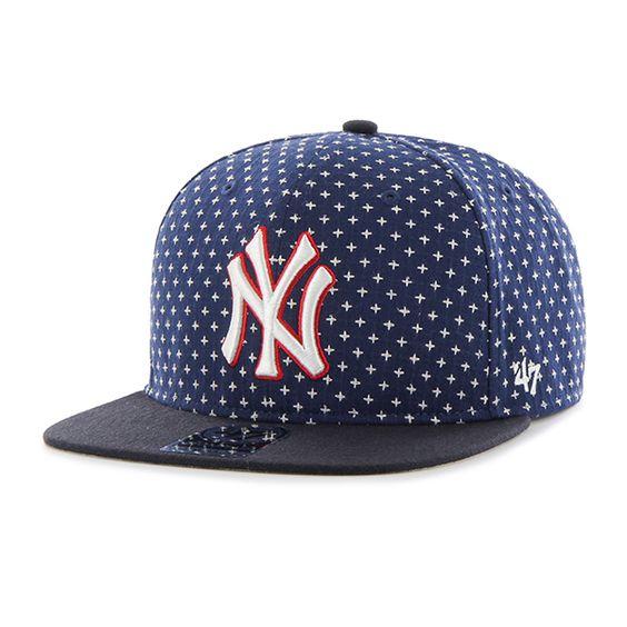 New York Yankees Cr 47 Brand Stretch Fit Hatbreed Captain Dyer 47 Brand Adjustable Hat