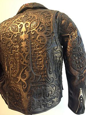 Noel Tooled Leather And Jackets On Pinterest