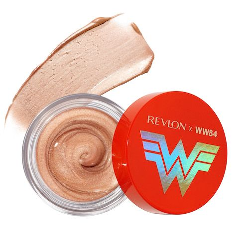 The New Revlon X Wonder Woman 1984 Collection Will Bring Out Your Inner Hero Influenster Reviews 2020 In 2020 Glossy Eyes Glow Pots Wonder Woman Makeup