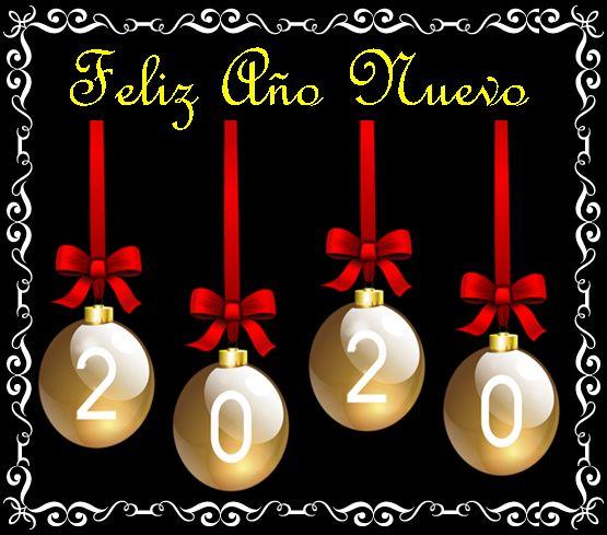 ® Colección de Gifs ®: HAPPY NEW YEAR 2020 - AÑO NUEVO 2020