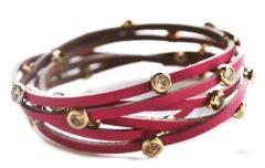 Diamond Studded Wrap Bracelet;371265563000939793