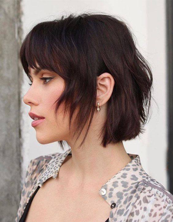Winning Look Of French Bob Haircuts For 2020 Voguetypes French Haircut Bobs Haircuts Layered Bob Haircuts