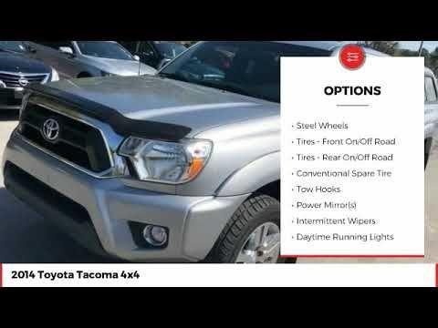 2014 Toyota Tacoma 4x4 Used Em154458 Toyota Tacoma 4x4 2014 Toyota Tacoma Toyota Tacoma