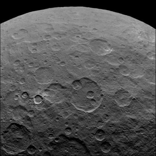 Kraterwände auf Ceres höher als die Eiger-Nordwand - Yahoo Nachrichten Deutschland