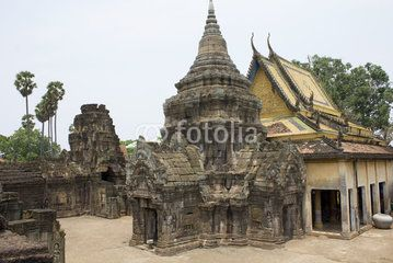 Old ruins with a palace #people #house #village #town #civilization #life #thirst #fotolia #construction #engineering #ruins #tradition #ages #time #culture #religion #believe