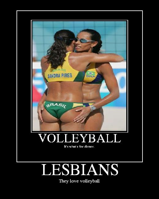 Volleyball Lesbian 98
