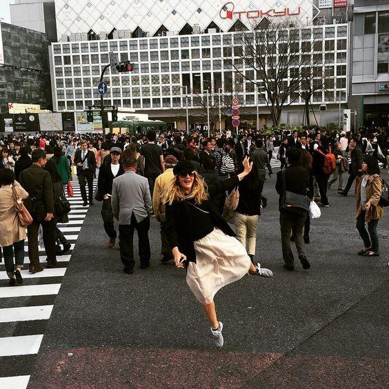 Sayonara! Goodbye Tokyo. Thank you!!!! #swollen #happy #tokyofoodtour photo by @will_kopelman - Photo: Courtesy of Drew Barrymore
