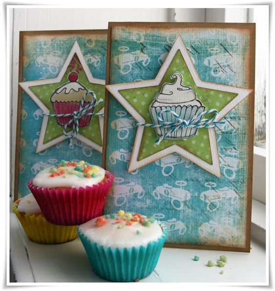 Yasmins scrapperier: Poppy Bursdagskort!