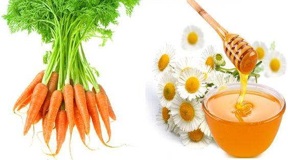 Chống lão hóa da bằng cà rốt