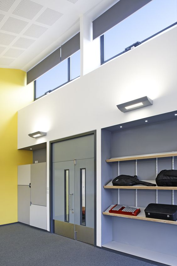 Caroline Haslett School, Milton Keynes. www.ajmarchitecture.com