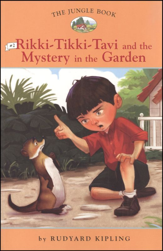 Jungle Book 2 Rikki Tikki Tavi And The Mystery In The Garden Main Photo Cover Jungle Book If Rudyard Kipling Electronic Books