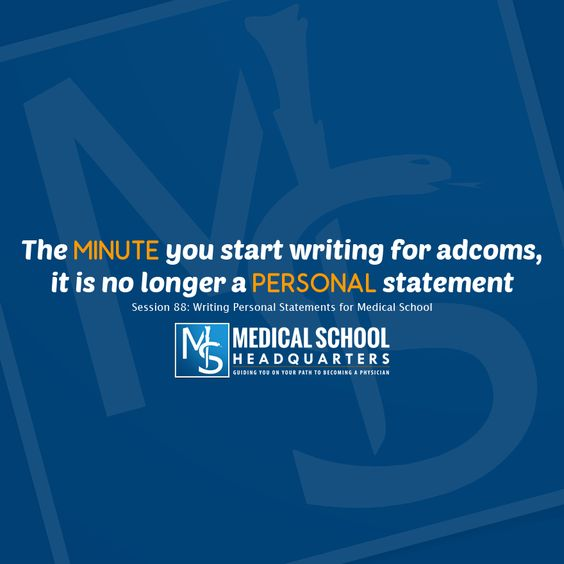 Fighting the Blank Page Tips for Starting Your Personal Statement - personal statement for medical school