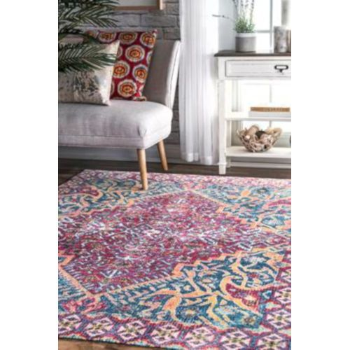Nuloom Vintage Joan Medallion Red Rectangular 8 Ft X 10 Ft Rug Muvl02a 8010 Bellacor In 2020 Rugs Usa Contemporary Rugs Rugs