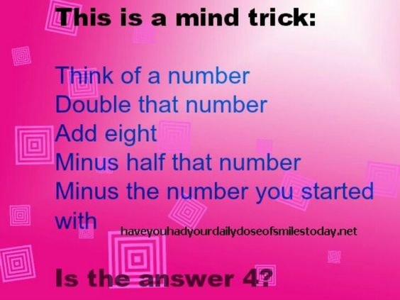 numerical digit and trick 2018-6-3  first choose a four digit  i've just published new book entitled the mysterious number 6174:  i saw your post and your question as to whether the math trick.
