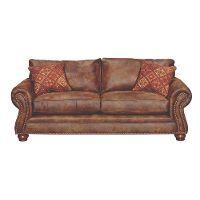 TAHOEPALOMINOSO  Tahoe  90  Brown Microfiber Sofa