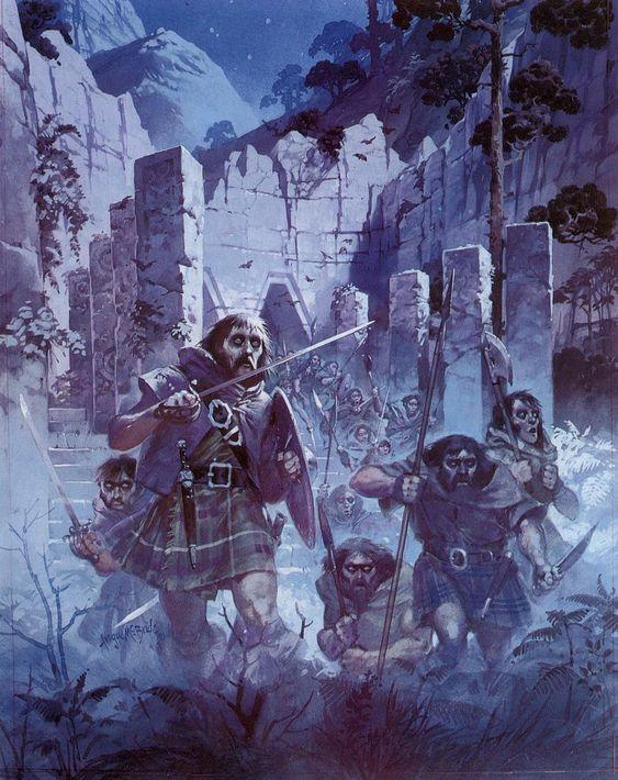 A Dunlending war party [Angus McBride]