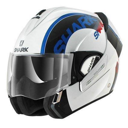 Shark Evoline S3 Drop helmet - white