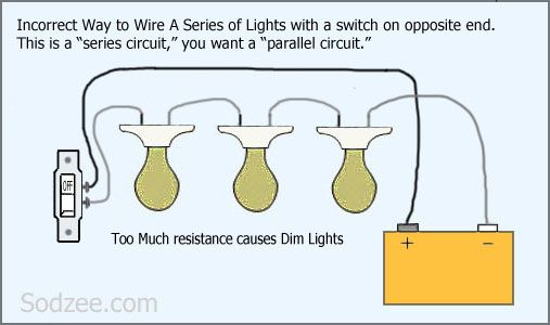 [SCHEMATICS_4FD]  Simple Home Electrical Wiring Diagrams | Home electrical wiring, Electrical  wiring diagram, Wire lights | Switch Series Wiring Diagram |  | Pinterest