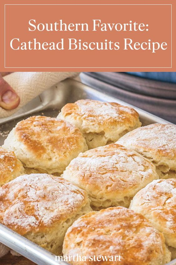 Southern Side Dish Recipe for Cathead Biscuits